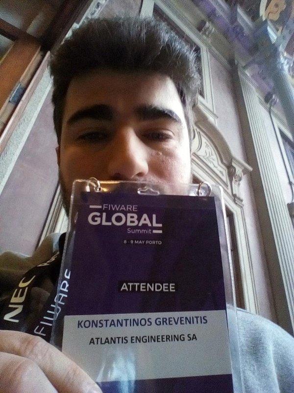 Attending the Fiware Global Summit 2018, Porto, Portugal